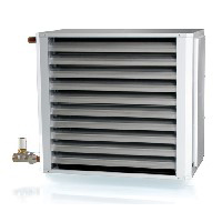 VEAB AW water fed unit heater