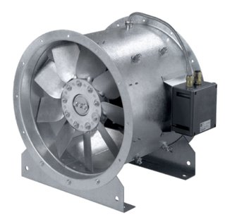 ATEX Long Case Axial Fans