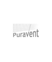 Extruded aluminium parabolic UV light refector on BioWall